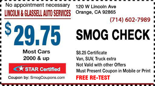Smog Check Coupon-orange smog